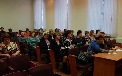 В Урицком районе идут отчеты и выборы в Профсоюзе