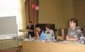Выступление Н.М. Перелыгиной перед районным Советом ППО